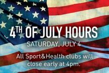 Have a healthy & fit 4th! / Food fitness and fun for a healthier holiday!  / by Sport&Health