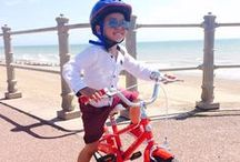 Bell's friends / Happy people riding bicycles from Bell's. We collect images of people having a great time on their bikes so please send yours into hello@bellsbicycles.co.uk