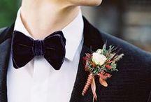 Wedding // Groom / What he'll wear, looking all dapper.