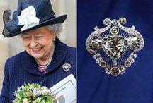 Queen Elizabeth Jewelery