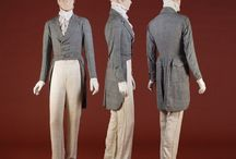 19th century fashion (gents)