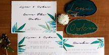 Green Wedding / Green Wedding  Im grünen Heiraten.
