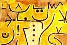 """Klee / """"Art does not reproduce what we see; rather, it makes us see."""" Paul Klee / by Katharine"""