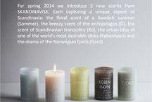 SKANDINAVISK / Håndlavede Lys med HYGGE og skønne rumdufte til dit hjem  #skandinavisk #Scent #difuser