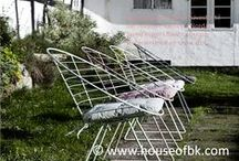 Furniture indoor/outdoor / www.houseofbk.com