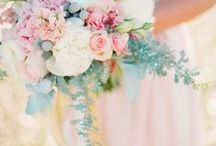 Mint & Pink | Wedding / Mint and Pink moodboard for weddings