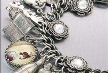 Jewels: VINTAGE CHARM BRACELETS / by Kathleen Gordon-Burke