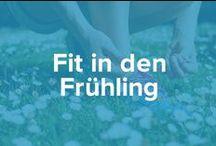 Fit in den Frühling / Mach Dich fit für den Frühling und befreie Dich von Ballast. Du wirst mit strafferer Haut und viel Energie belohnt werden.