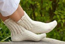Ponožky,návleky na ruce