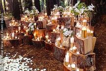 Woodland | Wedding / Woodland inspired wedding inspiration