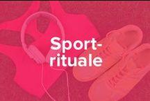 Sportrituale / Manche nennen es Macke oder Spleen - Fakt ist auf jeden Fall, dass viele Sportler bestimmte Rituale in Ihrem Fitnesslifestyle pflegen. Wir zeigen Dir hier ein paar - vielleicht erkennst Du Dich ja wieder.
