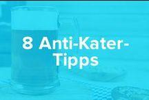 8 Anti-Kater Tipps