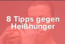 8 Tipps gegen Heißhunger