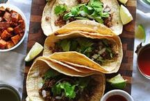 Taco Tuesday / The best of Mexican Food: Tacos, Burritos, Rice, Beans, Enchiladas, etc