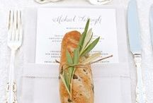Place Settings | Wedding / Pretty Place Settings for weddings or events
