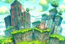 Environment / Game BG and Environments