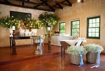 Chapels and Churches / Flowers , candles and altar arrangements