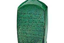 Old Hungarian bottles