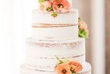 Wedding Cakes / Simple wedding cakes, rustic wedding cakes, naked cakes, flowers