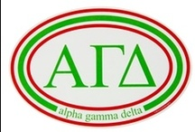 "Alpha Gamma Delta / ""Live with Purpose"" / by USA GreekLife"