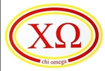 "Chi Omega  / ""Flourish""  / by USA GreekLife"
