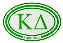 "Kappa Delta / ""Making Great Things Happen"" / by USA GreekLife"