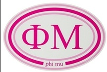 "Phi Mu / ""Vibrant"" / by USA GreekLife"