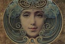 Art Nouveau, Art Deco & Before / by Shelly Seales