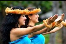 Tahitian and Hawaiian Islands / by Shelly Seales