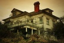 Abandoned~Haunting & Haunted / Places may or may not be abandoned but are considered haunted or haunting / by Jean Case
