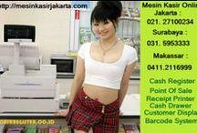 Mesin Kasir dan Barcode / Jual Perlengkapan Mesin Kasir Barcode Scanner Barcode Printer, Printer Kartu ID Card dan Timbangan Digital