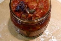 CAPONATA  gluten free / Delicious eggplant and celery dish is great as an appetizer, as a condiment or salad ingredient.  Kitchen Wisdom Gluten Free Caponata Recipe  http://kitchenwisdomglutenfree.com/2014/01/04/caponata-naturally-gluten-free-forget-what-you-know-about-wheatc-january-2014/