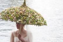 Fleurs & Mode / Réalisations florales artistiques autour de la mode (vêtements et accessoires)