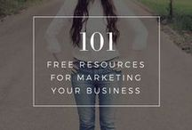 Small Biz | Resources / This board is for you if you want to become your own boss, become a freelancer or entrepreneur or be in charge of how you live your life. You will find heaps of entrepreneur and business tips, freelancing tips and career advice here!