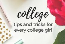 college tips / College tips and advice on roommate problems, dorm room ideas, being healthy in college, and much more! If you are interested in joining this group board, please email me at theyounghopeful@gmail.com with your Pinterest URL! This board is only for college related posts.