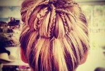 knot / haarkapsels met een knot