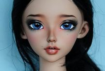BJD doll / Love all the detail about the doll