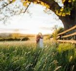 Hyde Barn Wedding / Hyde Barn wedding by Cotswold wedding photographer, Tanli Joy Weddings.