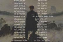 Poet / Love literature