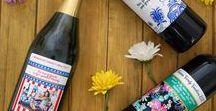 Summer Parties / Summer Parties, BBQs, Family Vacation, Party DIY, Custom Wine, Custom Wine Bottles, Personalized Wine, Personalized Wine Labels