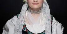 Beautiful SLOVAK folkroric women
