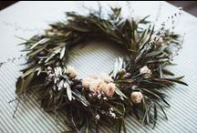{Wreaths} / Wreath Ideas and Inspiration / by Upcycled Treasures/A Handcrafted Wedding