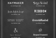 | Type  | / Font love / by Mountain Modern Life