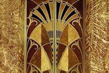 アールデコらしき / 1920前後の国際的な装飾様式。建築から生活用品まで多岐にわたる。あとから真似て作られたものもある。 / by Sumitto Mochizuki