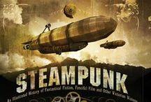 Steampunk:Gadgets & worldview / 前近代の蒸気エネルギーと科学技術への郷愁 / by Sumitto Mochizuki