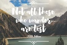 | Wordplay | / favorite quotes and wordplay / by Mountain Modern Life