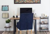 | Creative Workspaces | / Creative workspaces, craft rooms, home office, studio / by Mountain Modern Life