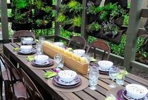 Patio Party with KESS / Spruce up your outdoor space with floor mats, pillows, art and placemats for your table.