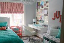 Tween girl's bedroom / Ideas for bedroom makeover