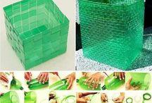 Bouteilles recyclées